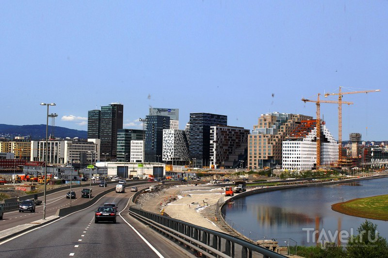 В городе Осло, Норвегия / Фото из Норвегии