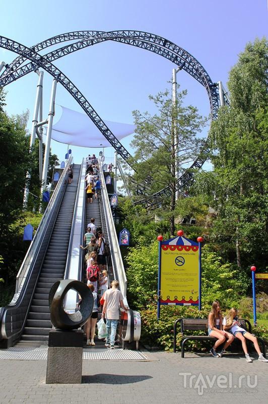 Парк Тусенфрид в Осло, Норвегия / Фото из Норвегии