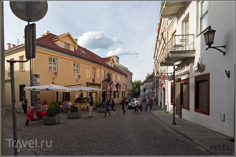 Улица Пилес (Замковая) в Вильнюсе, Литва / Фото из Литвы