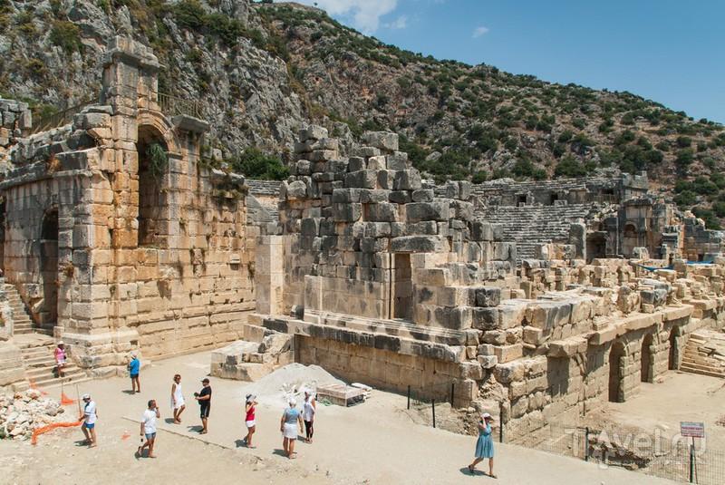 Греко-Римский Театр в Демре, Турция / Фото из Турции