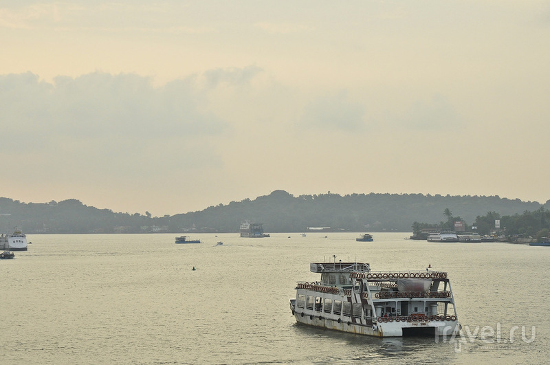 В городе Панаджи в Гоа, Индия / Фото из Индии