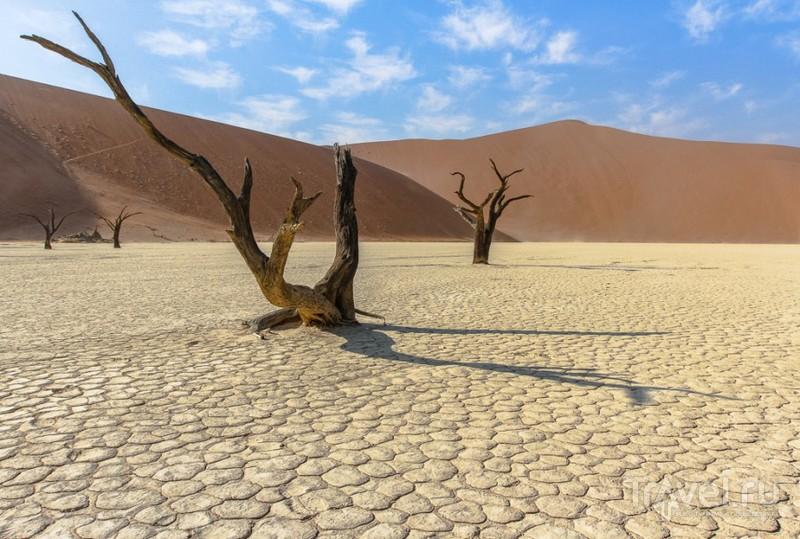 Плато Соссуфлей, Намибия / Фото из Намибии