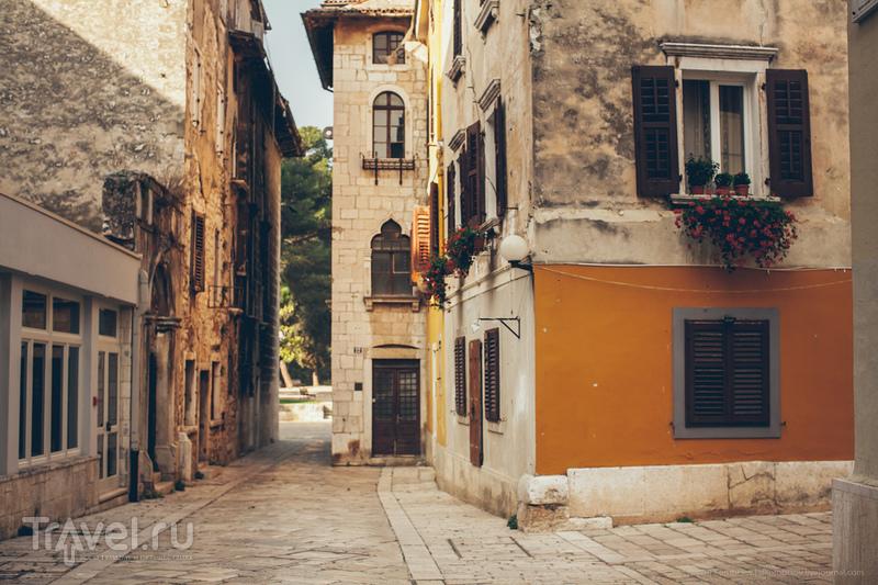 В городе Пореч, Хорватия / Фото из Хорватии