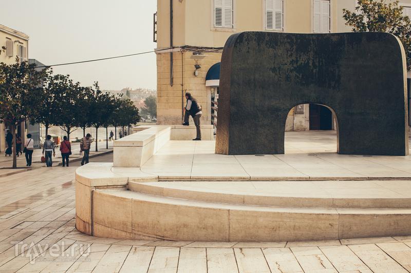 Площадь Марафор в Порече, Хорватия / Фото из Хорватии