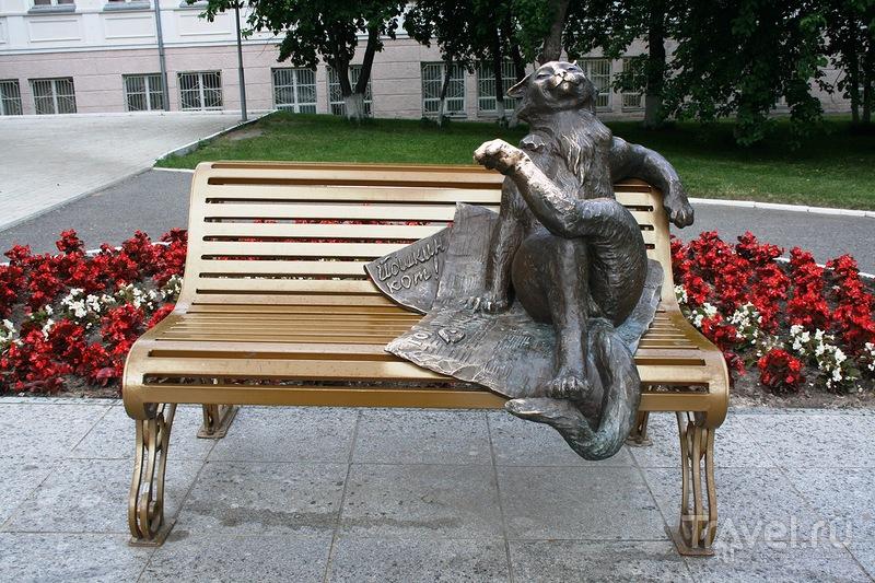 Памятник Йошкину коту в Йошкар-Оле, Россия / Фото из России