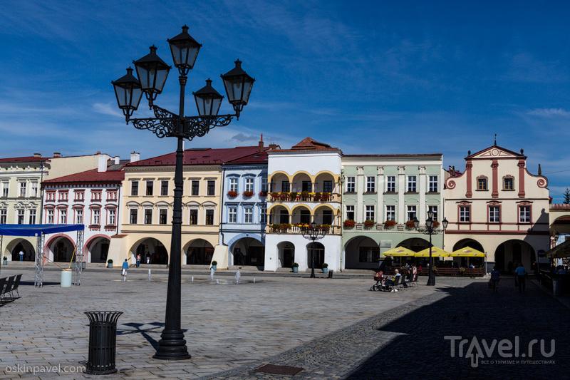 В городе Новы Йичин, Чехия / Фото из Чехии