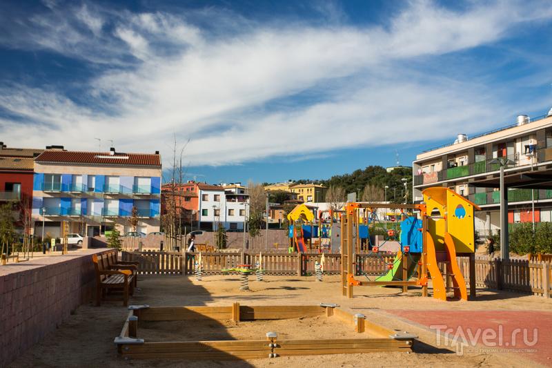 В городе Палафружель, Испания / Фото из Испании