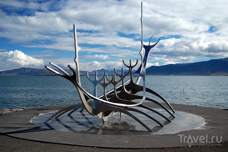 Монумент Sun-Voyager в Рейкьявике, Исландия / Фото из Исландии