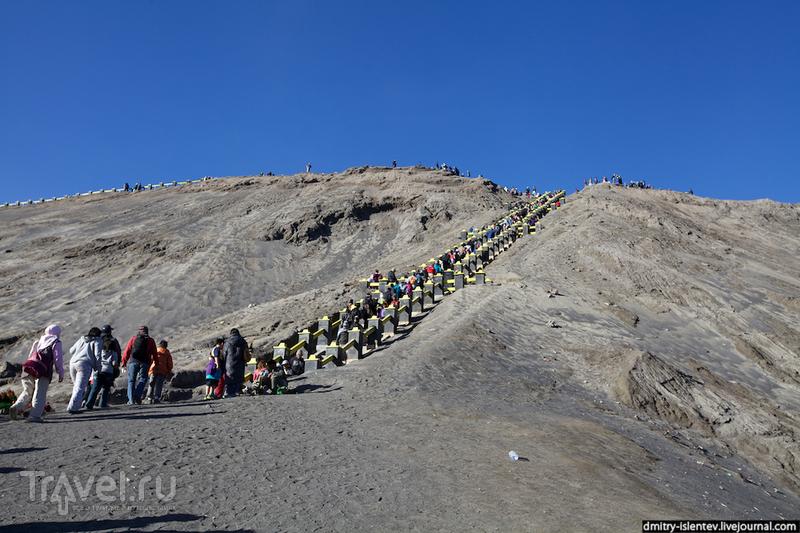 Лестница на Бромо / Индонезия