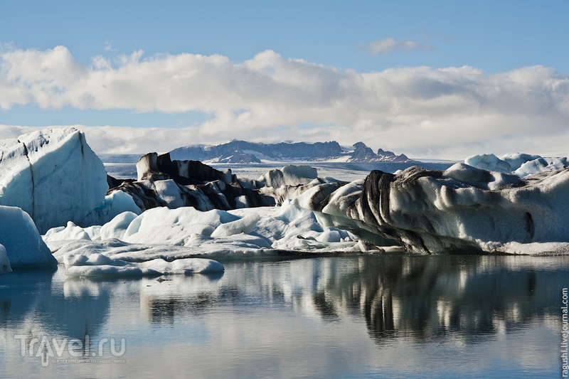 Лагуна Айсбергов в Исландии / Фото из Исландии