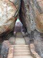 Проход в скале / Шри-Ланка