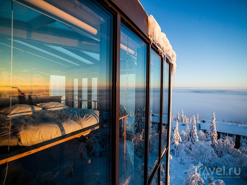 При определенной доле везения можно не только полюбоваться звездным небом, но и увидеть северное сияние, Финляндия / Финляндия