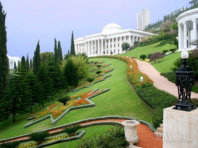 В 2008 году Бахайские сады включены в Список Всемирного наследия ЮНЕСКО, Израиль / Израиль