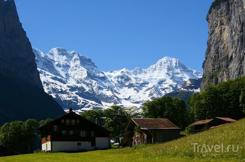 Горный массив Оберланд, Швейцария / Фото из Швейцарии