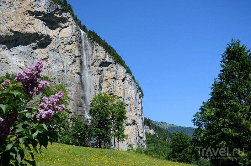 Стена Лаутербруннен, Швейцария / Фото из Швейцарии