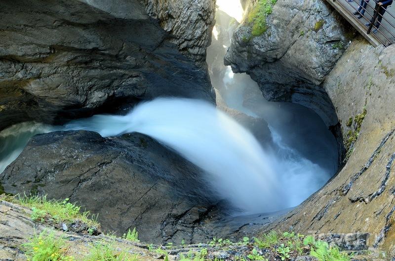 Трюммельбахский водопад, Швейцария / Фото из Швейцарии