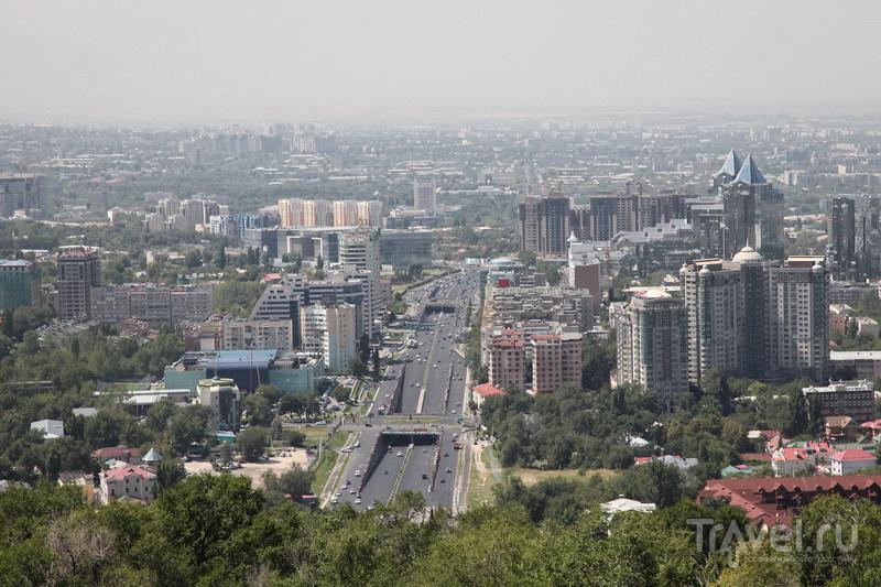 В городе Алма-Ата, Казахстан / Фото из Казахстана