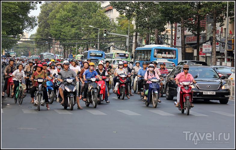 В городе Сайгон, Вьетнам / Фото из Вьетнама