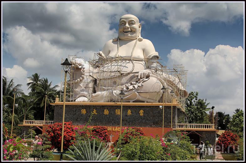 У пагоды Винь-Чанг, Вьетнам / Фото из Вьетнама