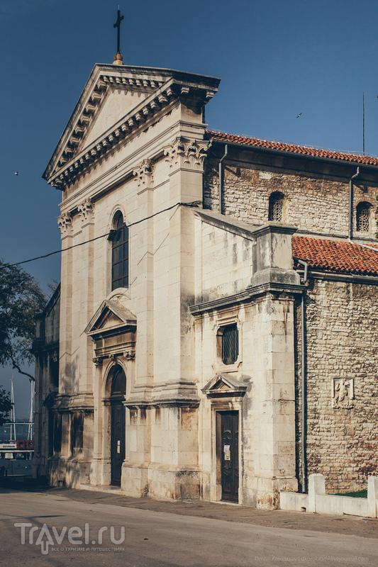 Собор Вознесения Девы Марии в Пуле, Хорватия / Фото из Хорватии