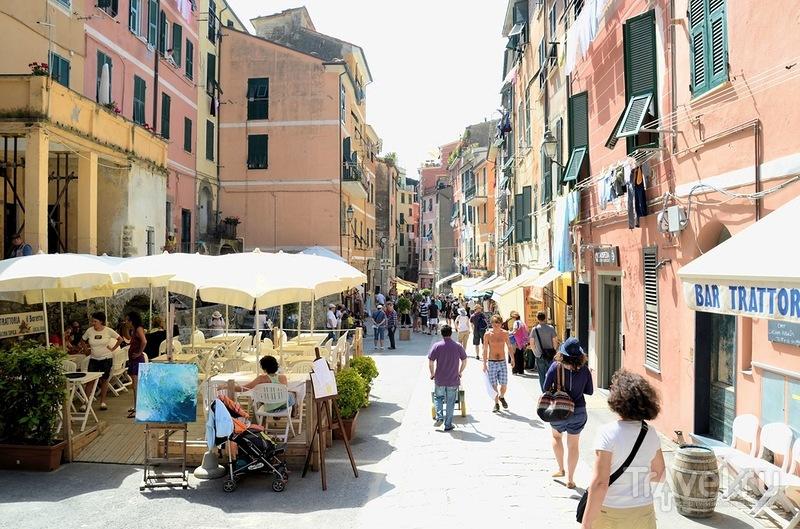 В городе Вернацца, Италия / Фото из Италии