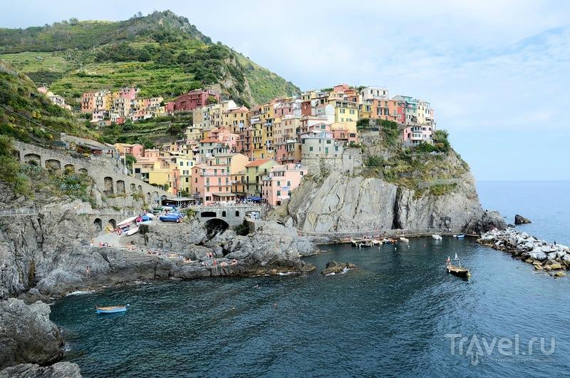 В городе Манарола, Италия / Фото из Италии