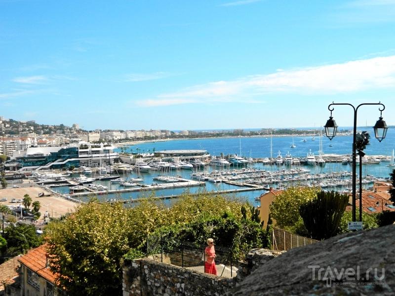 Порт в Каннах, Франция / Фото из Франции