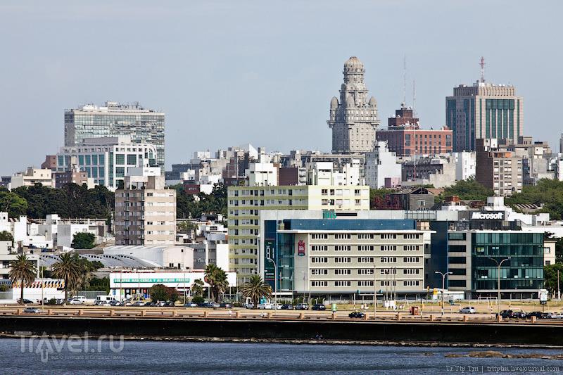В городе Монтевидео, Уругвай / Фото из Уругвая