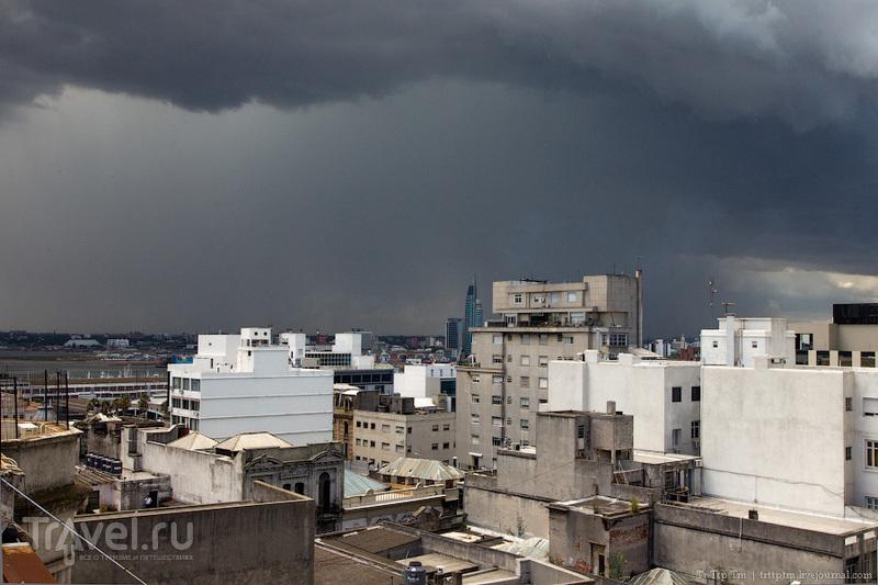 Возвращаясь в Монтевидео / Фото из Уругвая