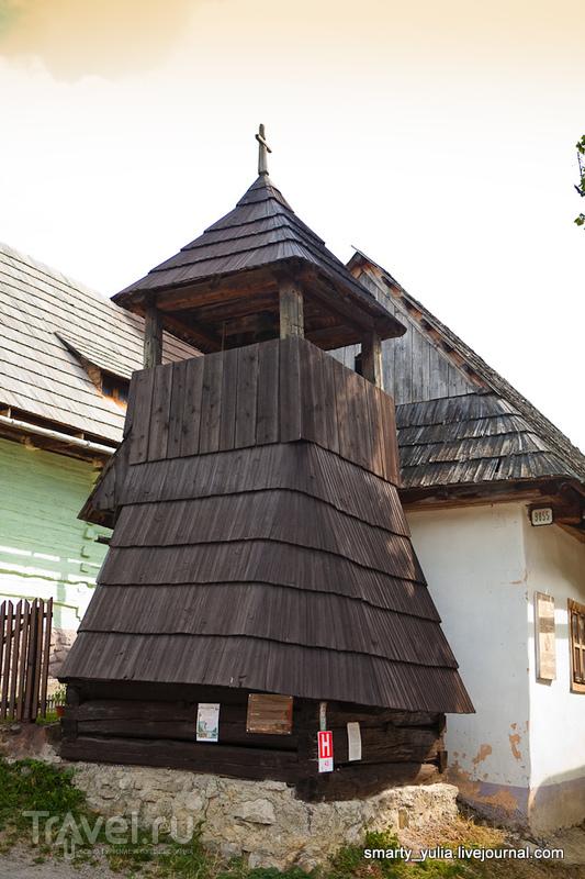 Колоритная деревня Влколинец (Vlkolínec) / Фото из Словакии