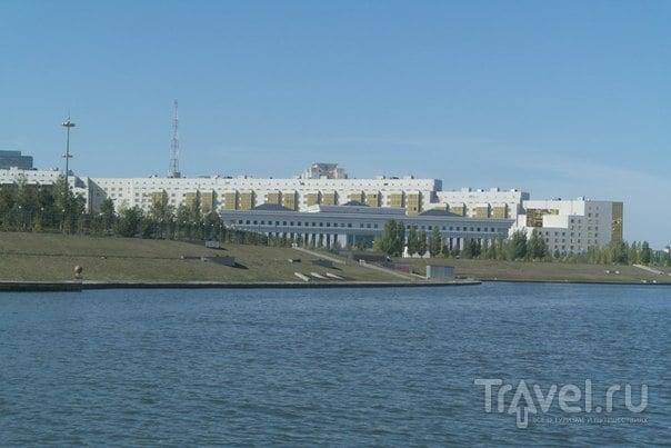 Астана. Речная прогулка / Казахстан