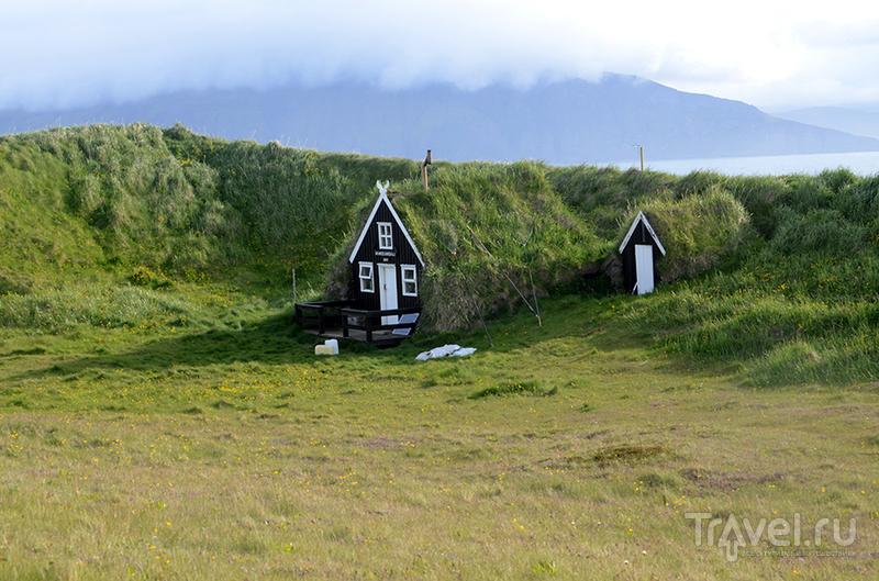 Исландия. Остров Drangey / Исландия