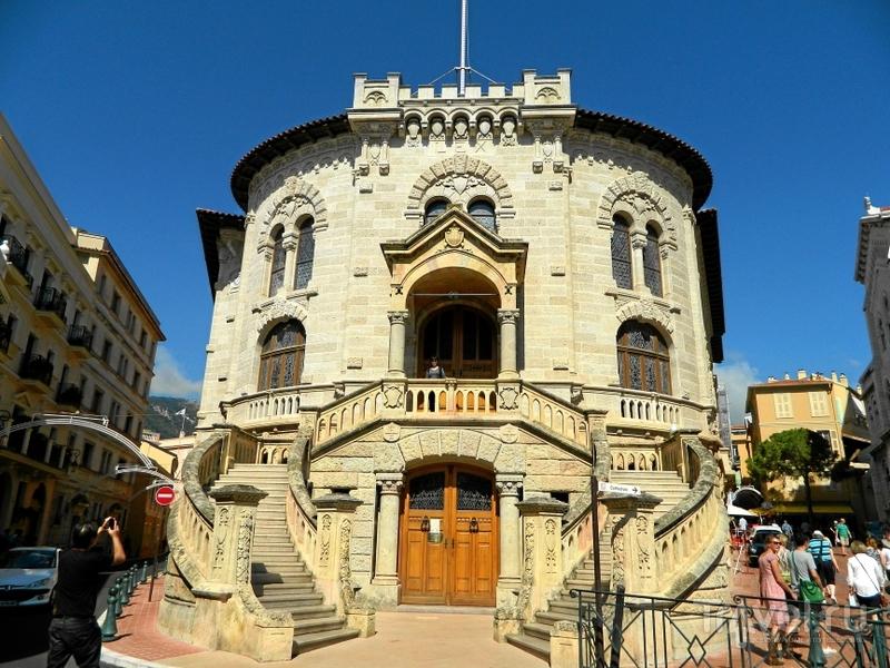 Дворец правосудия в Монако / Фото из Монако