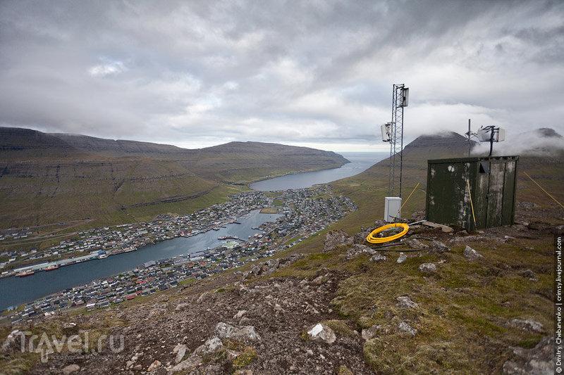Город Клаксвик на Фарерских островах / Фото с Фарерских островов