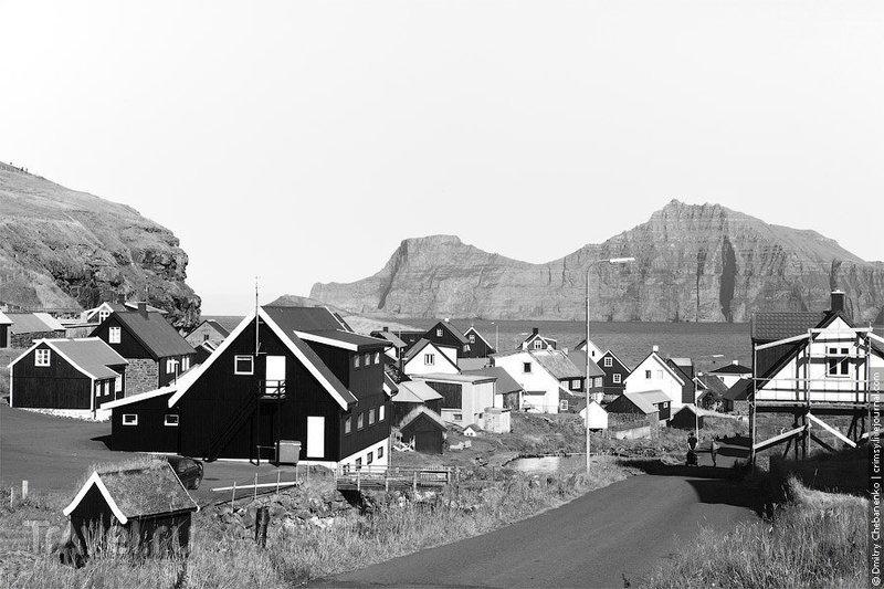 В городе Торсхавн на Фарерских островах / Фото с Фарерских островов