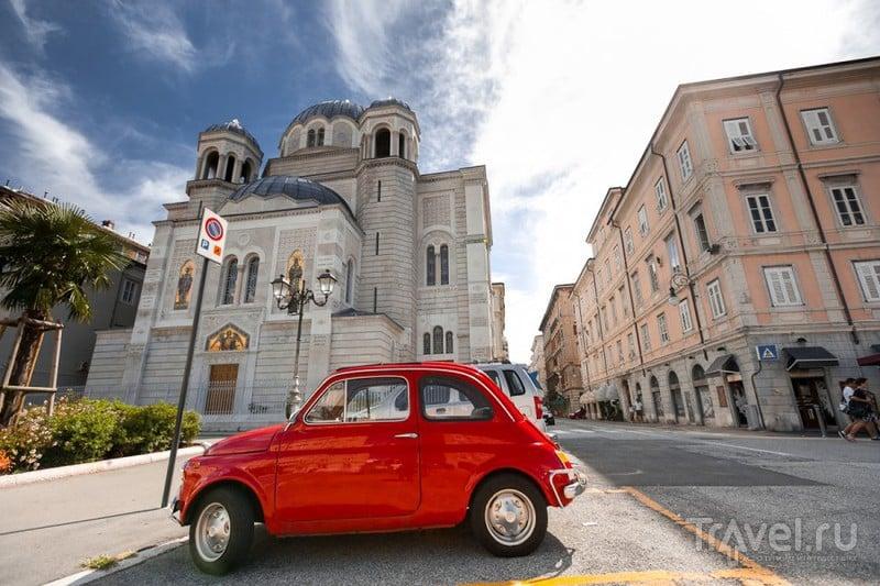 В городе Триест, Италия / Фото из Италии