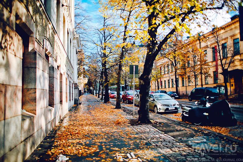 Проспект Bulevardi в Хельсинки, Финляндия / Фото из Финляндии