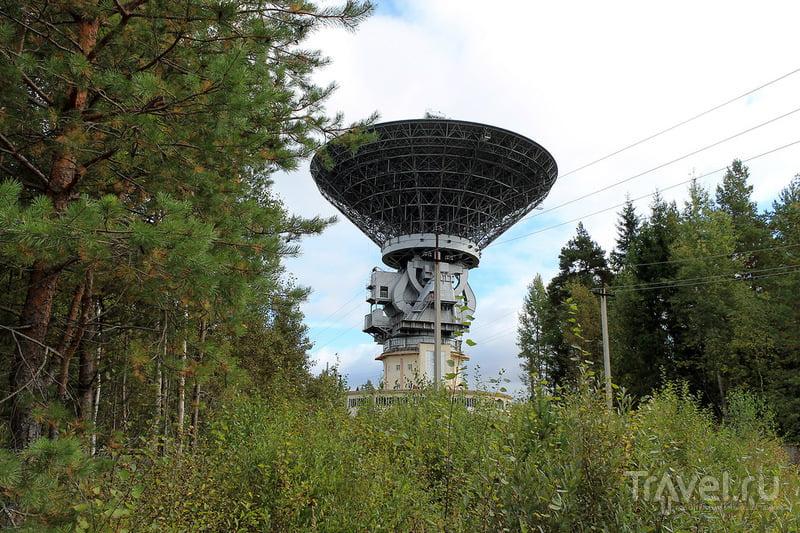 Радиотелескоп Калязинской радиоастрономической лаборатории в деревне Толстоухово, Россия / Фото из России