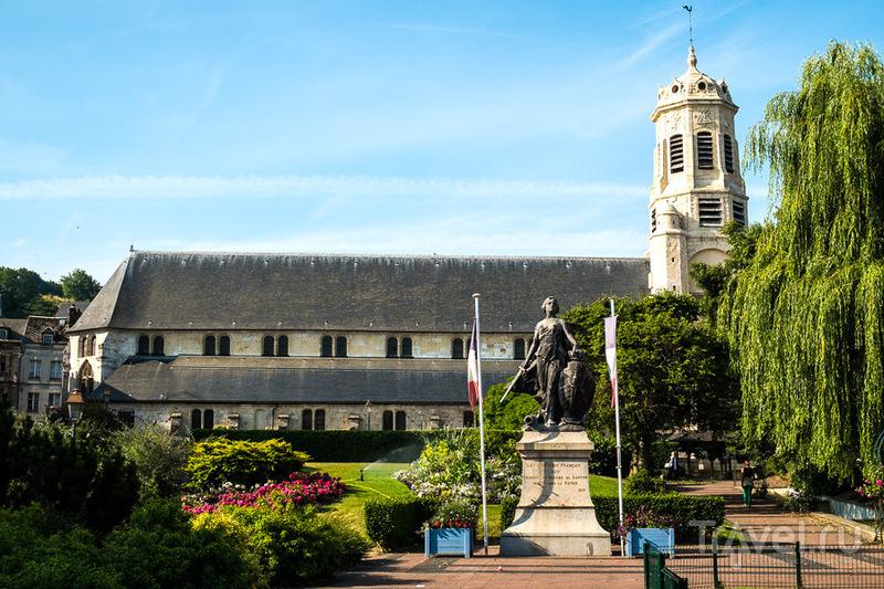 Церковь Святого Леонарда в Онфлере, Франция / Фото из Франции