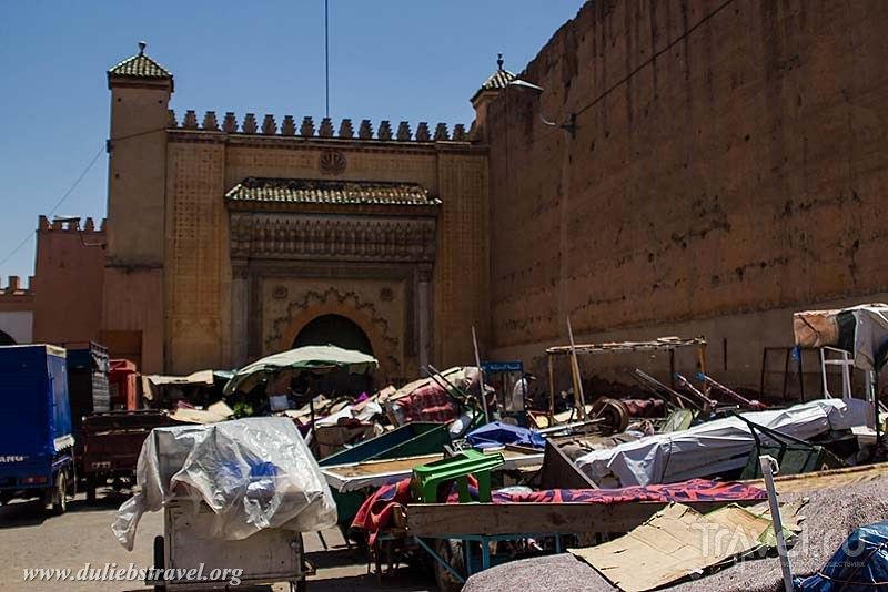 Достопримечательности Марракеша: Дворец эль Бади / Марокко