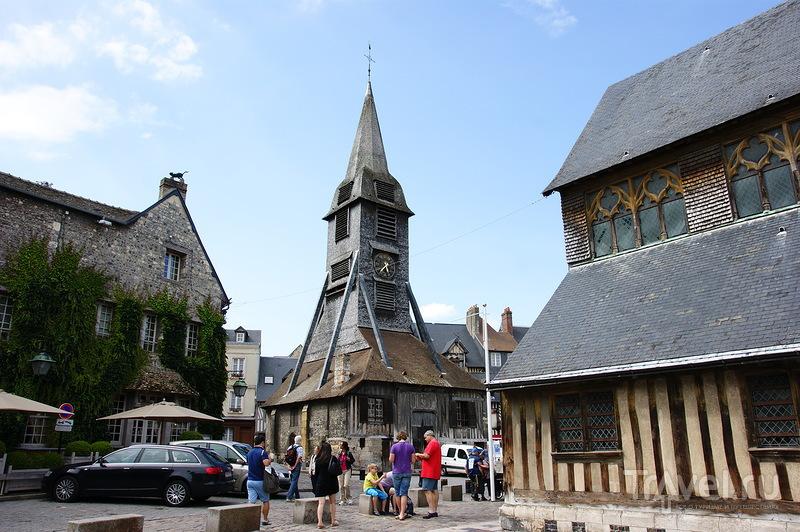 Деревянная церковь Святой Катерины в Онфлере, Франция / Фото из Франции