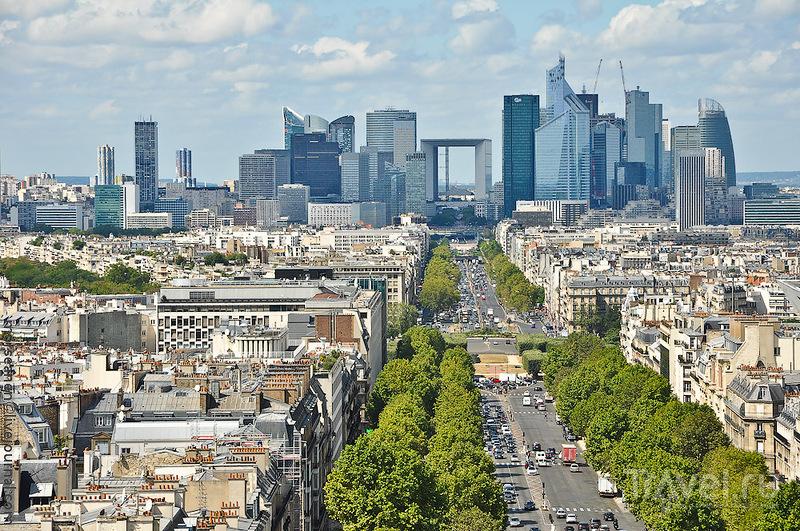 Район Дефанс в Париже, Франция / Фото из Франции