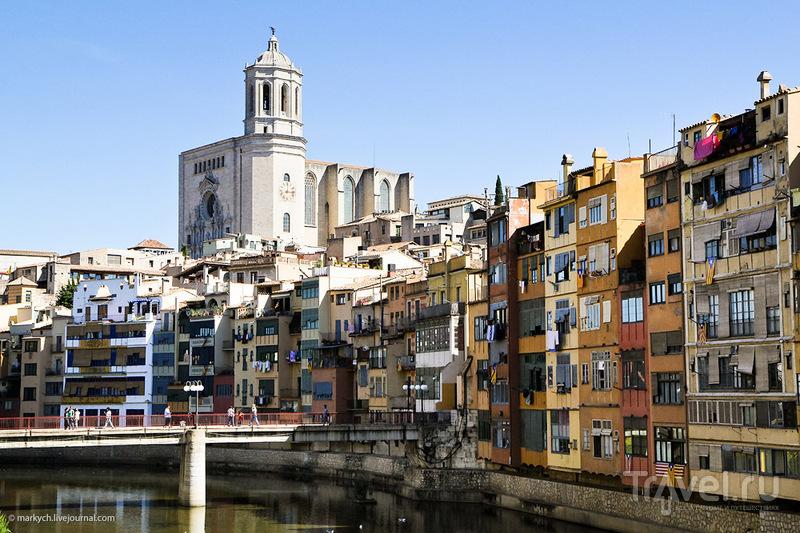 Река Оньяр в Жироне. Испания / Фото из Испании