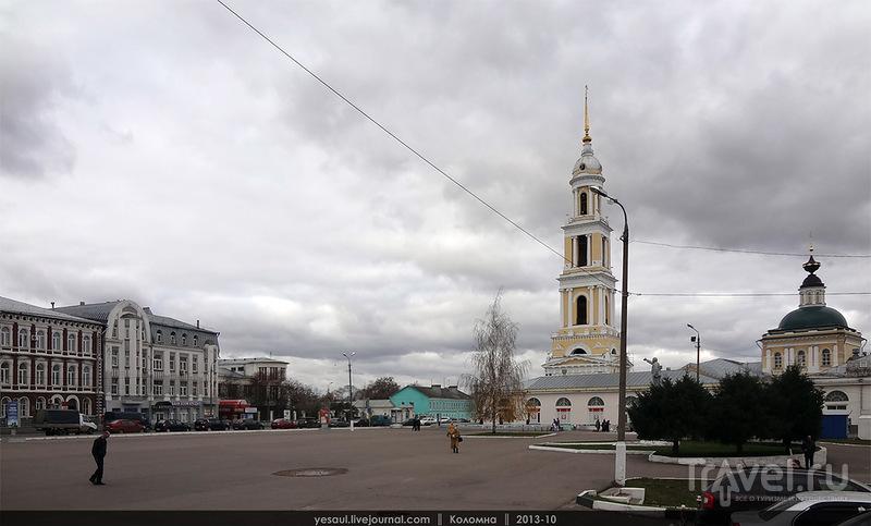 Площадь Двух Революций в Коломне, Россия / Фото из России