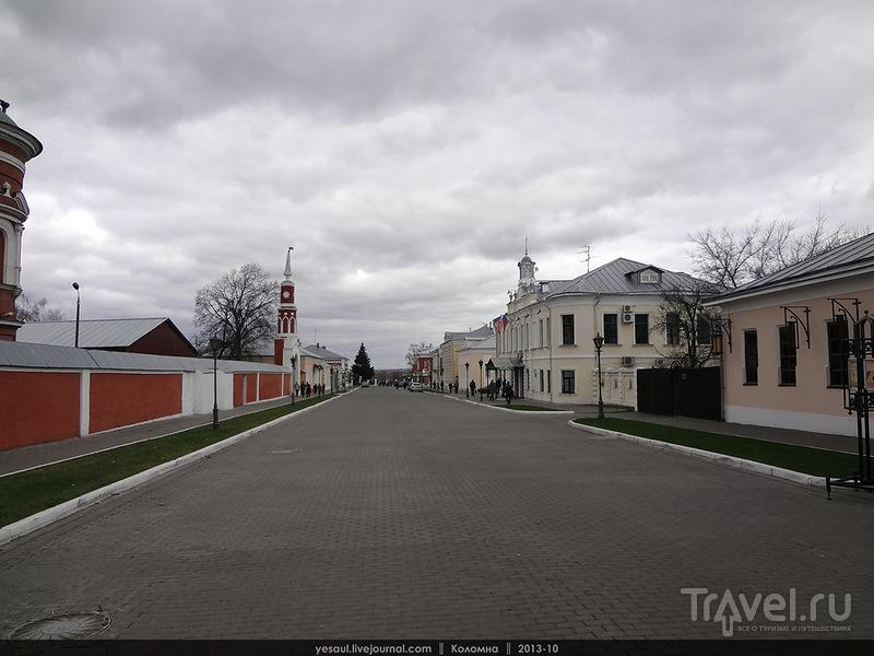 Улица Лажечникова в Коломне, Россия / Фото из России