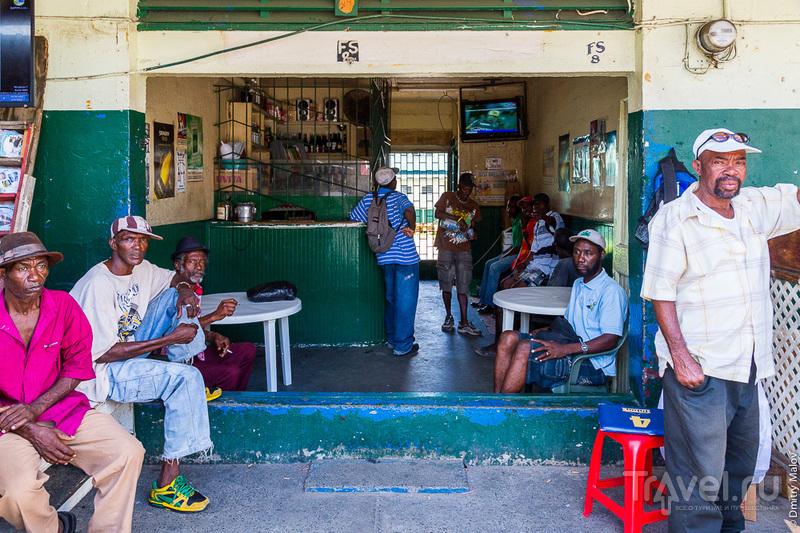 В городе Кастри, Сент-Люсия / Фото с Сент-Люсии