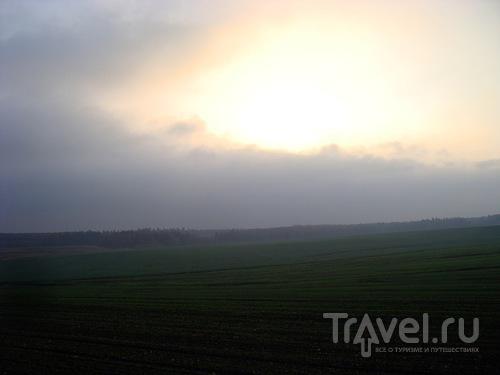 Осеннее утро в Сынковичах / Белоруссия