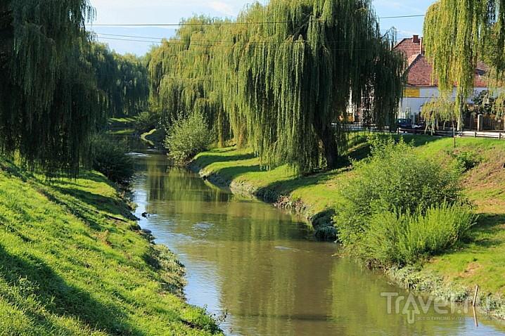 Река Кабин  в Сибиу, Румыния / Фото из Румынии