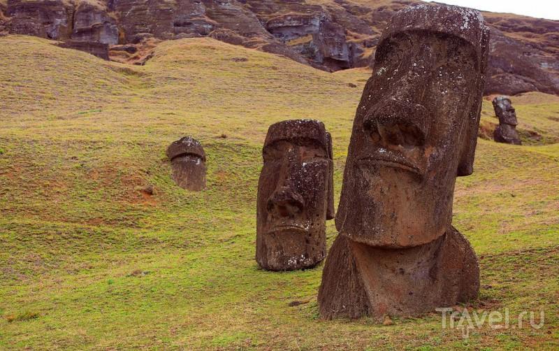 Южноамериканский дневник. Остров Пасхи / Фото из Чили