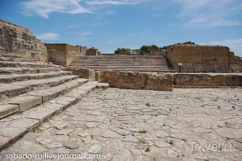 Фестский дворец Греция Крит / Греция